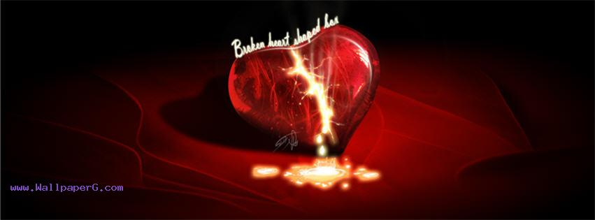 Broken heart images fb cover ,wide,wallpapers,images,pictute,photos