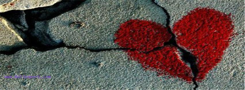 Broken heart 1 images fb cover