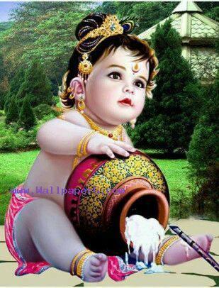Sweet krishna ji