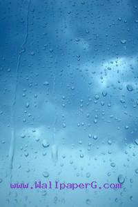 Blue water droplets ,wide,wallpapers,images,pictute,photos