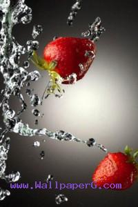 The strawberry ,wide,wallpapers,images,pictute,photos