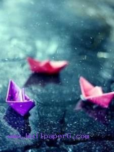 Paper boats ,wide,wallpapers,images,pictute,photos