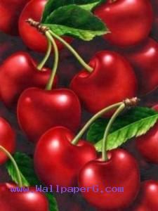 Red cherry ,wide,wallpapers,images,pictute,photos