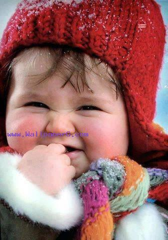 Baby in winter hat ,wide,wallpapers,images,pictute,photos