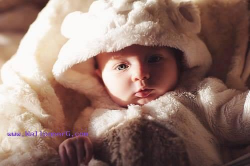Baby in bright morning ,wide,wallpapers,images,pictute,photos