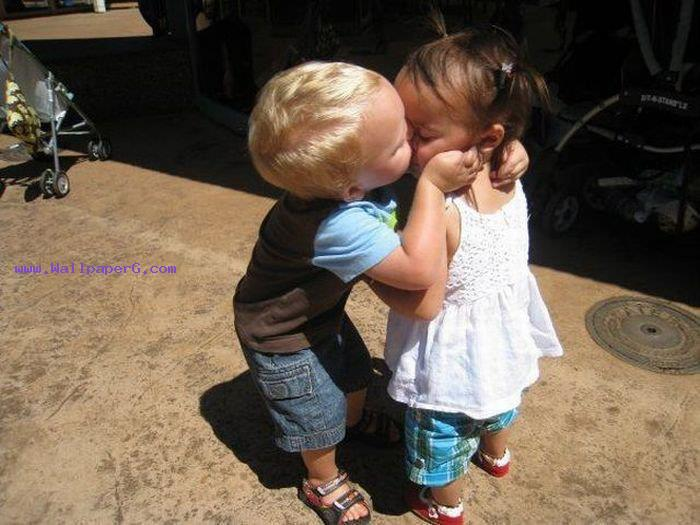 Kissing baby ,wide,wallpapers,images,pictute,photos