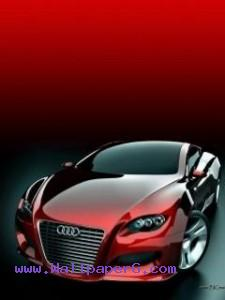 Red audi ,wide,wallpapers,images,pictute,photos