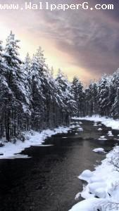 Icy river ,wide,wallpapers,images,pictute,photos