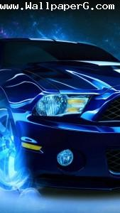 Blue car 2 ,wallpapers,images,