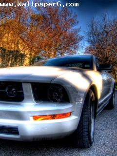 Ford mustang mobile wallp