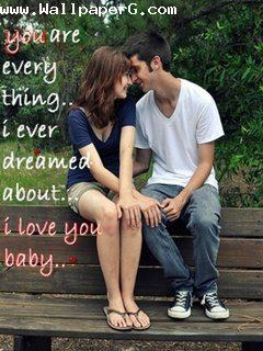 You are every thing i eve