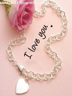 I love you heart chain ,wide,wallpapers,images,pictute,photos