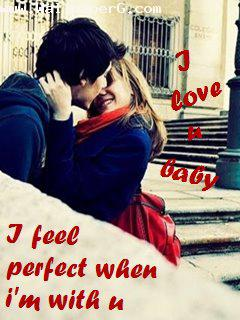 download i feel perfect when i am with you romantic