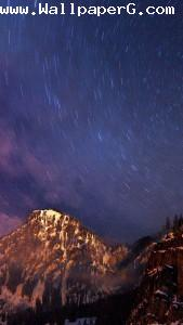 Stary night ,wide,wallpapers,images,pictute,photos