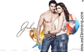 Deepika padukone john abraham awesome wallpaper 1