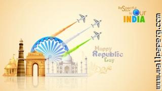 Beautiful greetings for republic day 2015 1024x576 ,wide,wallpapers,images,pictute,photos