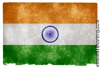 Creative indian flag desi