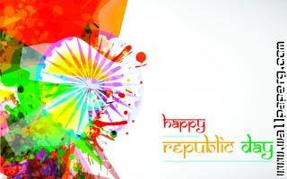 Creative republic day 2015 desktop wallpaper 1024x640