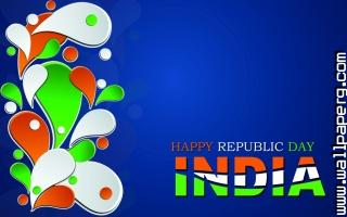 Floral art design wallpaper for happy republic day 2015 1024