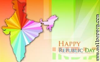 Happy republic day 2015 with indian map 1024x640 ,wide,wallpapers,images,pictute,photos