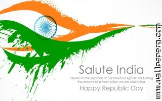 Happy republic day wishes widescreen desktop background 1024