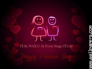 Love couple wishes happy promise day 2015