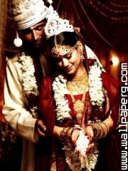 Bengali bride and groom