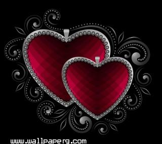 Valentine hearts ,wide,wallpapers,images,pictute,photos