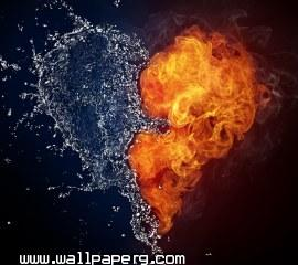 Burning heart(1) ,wide,wallpapers,images,pictute,photos