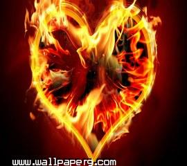 Burning heart(2) ,wallpapers,images,