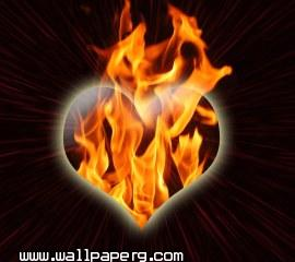 Burning heart(3)