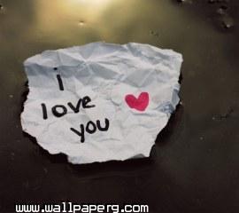 I love you(25)