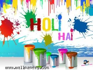 Indian holi dhulendi