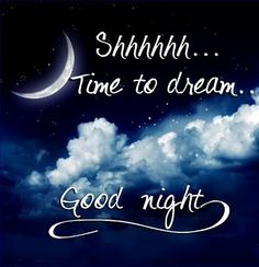 Time to dream good night wallpaper