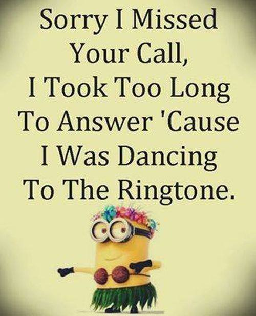 Dancing on the ringtone