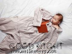 Big baby good night image ,wide,wallpapers,images,pictute,photos