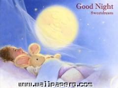 Good night dream hd wallpaper