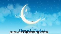 Good night moon wallpaper