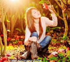 Sweet girl feeling the nature ,wide,wallpapers,images,pictute,photos
