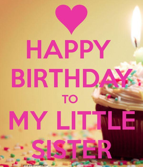 Birthday to my sis