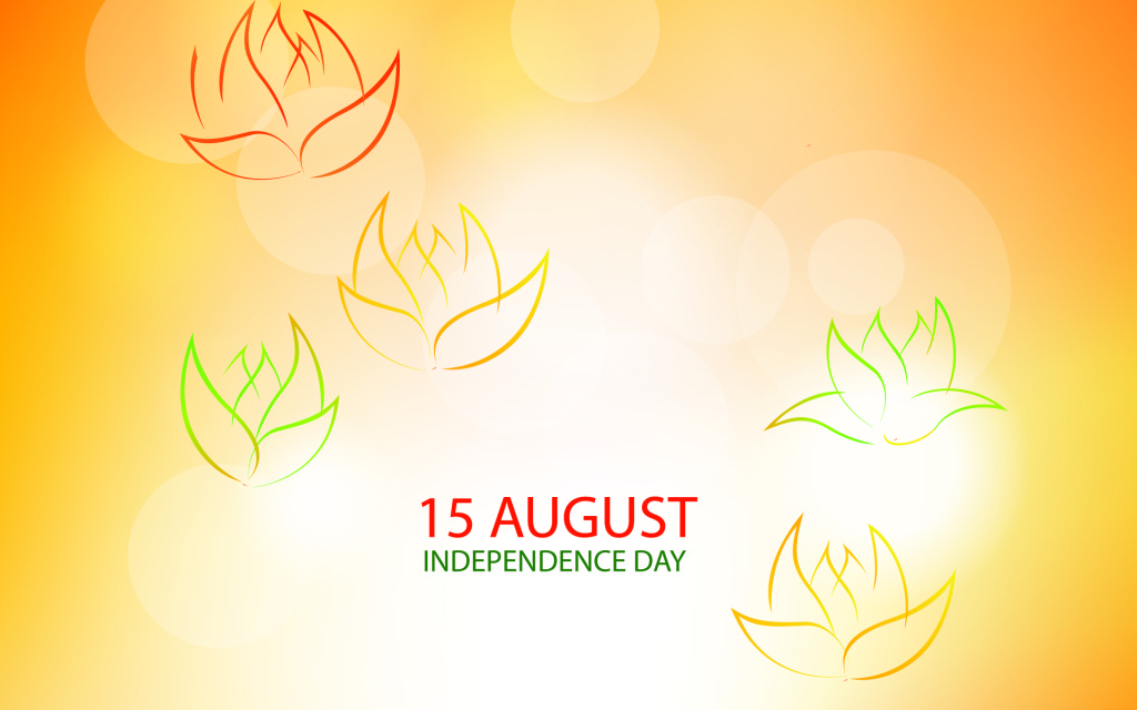 Download new greetings for happy independence day 2015
