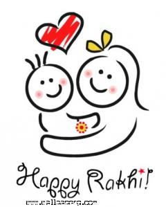 Happy rakhi for indian