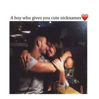 A boy who give you a cute nickname hd love quote ,wide,wallpapers,images,pictute,photos