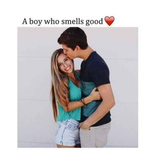 A boy who smiles good with you hd love image