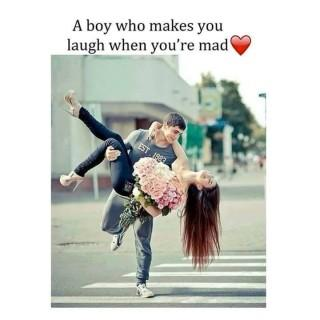 Make you laugh hd love quote image