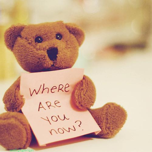 Where are you i am missin