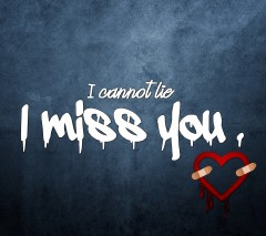 I can not lie i miss you download quote image