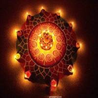 Diwali rangoli with diyas ,wide,wallpapers,images,pictute,photos