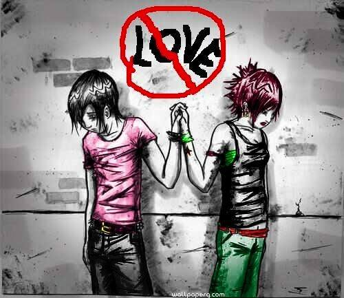 Love restriction for couple