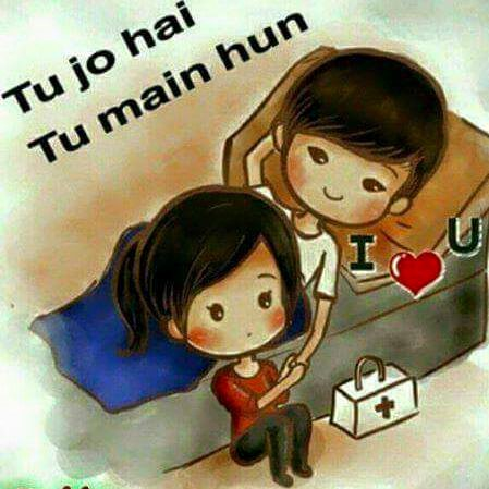 Tu jo hai tu mein hun love quote ,wide,wallpapers,images,pictute,photos